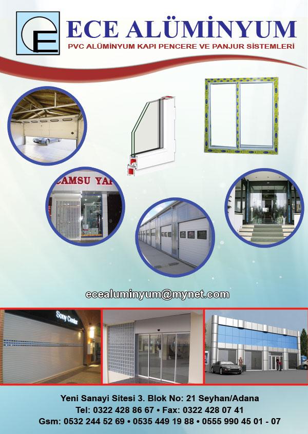Adana alüminyum firmaları