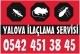 Yalova İlaçlama 0532 253 15 48 logo